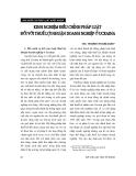 """Báo cáo """" Kinh nghiệm điều chỉnh pháp luật đối với thuế lợi nhuận doanh nghiệp ở UCRAINA """""""