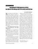 """Báo cáo """" Kinh nghiệm quốc tế về điều chỉnh pháp luật đối với hoạt động xúc tiến thương mại và một số yêu cầu đặt ra đối với Việt Nam """""""