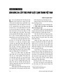 """Báo cáo """" Bán hàng đa cấp theo pháp luật cạnh tranh Việt Nam"""""""