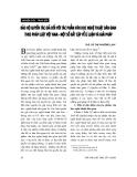 """Báo cáo """" Bảo hộ quyền tác giả đối với tác phẩm văn học nghệ thuật dân gian theo pháp luật Việt Nam- một số bất cập về lí luận và giải pháp """""""