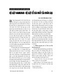 """Báo cáo """" Bộ luật Hammurabi - Bộ luật cổ xưa nhất nhân loại """""""
