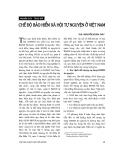 """Báo cáo """" Chế độ bảo hiểm xã hội tự nguyện ở Việt Nam """""""