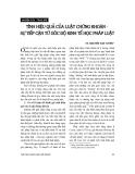 """Báo cáo """"  Tính hiệu quả của Luật chứng khoán - sự tiếp cận từ góc độ kinh tế học pháp luật"""""""