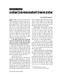 """Báo cáo """"  Các quyền kinh tế, xã hội và văn hoá của người khuyết tật trong pháp luật Việt Nam"""""""