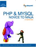 PHP & MYSQL NOVICETO NINJA
