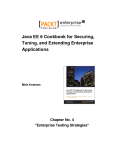 Java EE 6 Cookbook for Securing, Tuning, Extending Enterprise Applications