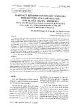 Nghiên cứu biến đổi hàm lượng độc tố sinh học trên đối tượng vẹm xanh