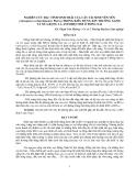 NGHIÊN CỨU ĐẶC TÍNH SINH THÁI CỦA CÂY TÁI SINH VÊN VÊN (Anisoptera cochinchinensis Pierre) TRONG KIỂU RỪNG KÍN THƯỜNG XANH VÀ NỬA RỤNG LÁ ẨM NHIỆT ĐỚI Ở ĐỒNG NAI