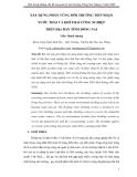 XÂY DỰNG PHÂN VÙNG MÔI TRƯỜNG TIẾP NHẬN NƯỚC THẢI VÀ KHÍ THẢI CÔNG NGHIỆP TRÊN ĐỊA BÀN TỈNH ĐỒNG NAI