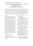 Tìm hiểu sự phát sinh hình thái chồi trong nuôi cấy in-Vitro cây nhàu