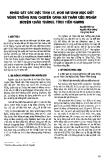 Khảo sát các đặc tính lý, hóa và sinh học đất vùng trồng rau chuyên canh xã thân cửu nghĩa huyện Châu Thành, tỉnh Tiền Giang