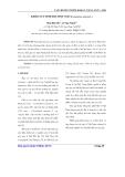 Khảo sát tinh dầu hột ngò(Coriandrum sativum L.)