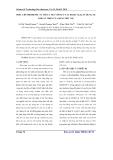 Điều chế Biodiesel từ mỡ cá tra với xúc tác KOh/y-AL2O3 khuấy trộn của sống siêu âm