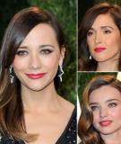 12 xu hướng làm đẹp từ Oscar 2013