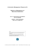 UNIT 6. NETWORKING DOCUMENTS AND DATABASES LESSON 1. WEB STANDARDS AND STATIC WEBSITESNOTE