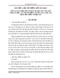ĐỀ TÀI: QUAN ĐIỂM HỒ CHÍ MINH VỀ MỤC TIÊU CỦA CHỦ NGHĨA XÃ HỘI – GIÁ TRỊ TƯ TƯỞNG ĐÓ VỚI CÔNG CUỘC XÂY DỰNG ĐẤT NƯỚC TA HIỆN NAY