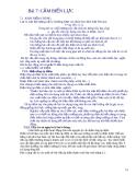 Bài 7: CẢM BIẾN LỰC