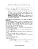 TRẢ LỜI CÂU HỎI THỰC TẬP HÓA HỮU CƠ-CNHH