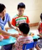 Sống với quyết định bạn đã chọn về trung tâm chăm sóc trẻ