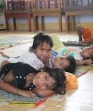 Trẻ Mầm Non và giờ ngủ: Thực hành thời gian biểu