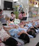 Trẻ mầm non và giờ ngủ: Chấm dứt trận chiến giờ ngủ