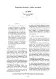"""Báo cáo khoa học: """"Empirical evaluations of animacy annotation"""""""