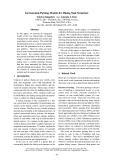 "Báo cáo khoa học: ""Incremental Parsing Models for Dialog Task Structure"""