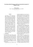 "Báo cáo khoa học: ""Generating statistical language models from interpretation grammars in dialogue systems"""