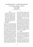 "Báo cáo khoa học: ""Re-evaluating the Role of B LEU in Machine Translation Research"""