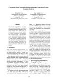 "Báo cáo khoa học: ""Computing Term Translation Probabilities with Generalized Latent Semantic Analysis"""