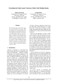 """Báo cáo khoa học: """"Extending the Entity-based Coherence Model with Multiple Ranks"""""""