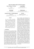 "Báo cáo khoa học: ""Query log analysis with GALATEAS LangLog"""