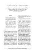 "Báo cáo khoa học: ""Coordination Structure Analysis using Dual Decomposition"""