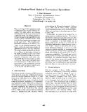 """Báo cáo khoa học: """"A Word-to-Word Model of Translational Equivalence"""""""
