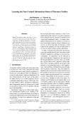 """Báo cáo khoa học: """"Learning the Fine-Grained Information Status of Discourse Entities"""""""