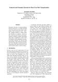 "Báo cáo khoa học: ""Syntactic and Semantic Kernels for Short Text Pair Categorization"""