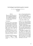 "Báo cáo khoa học: ""The Multilingual Named Entity Recognition Framework"""