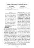 "Báo cáo khoa học: ""Predicting Strong Associations on the Basis of Corpus Data"""