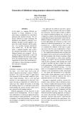 "Báo cáo khoa học: ""Extraction of definitions using grammar-enhanced machine learning"""