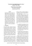 "Báo cáo khoa học: ""Generating a Non-English Subjectivity Lexicon: Relations That Matter"""
