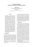 """Báo cáo khoa học: """"Word Sense Induction: Triplet-Based Clustering and Automatic Evaluation"""""""