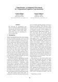 "Báo cáo khoa học: ""An Integrated Environment for Computational Linguistics Experimentation"""