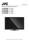 Black Crystal 3000 Series LCD TV