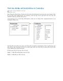 Trình bày dữ liệu với DataGridView và ComboBox