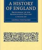 A History of England Principally in the Seventeenth Century, Volume I (of 6)