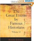 The Great Events by Famous Historians, Volume 12