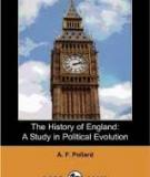 The History of England A Study in Political Evolution