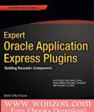 Expert Oracle Application Express Plugins: Building Reusable Components