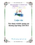 Luận văn: Xây dựng website quảng cáo thương mại bằng ASP.NET