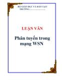 LUẬN VĂN:  Phân tuyến trong mạng WSN